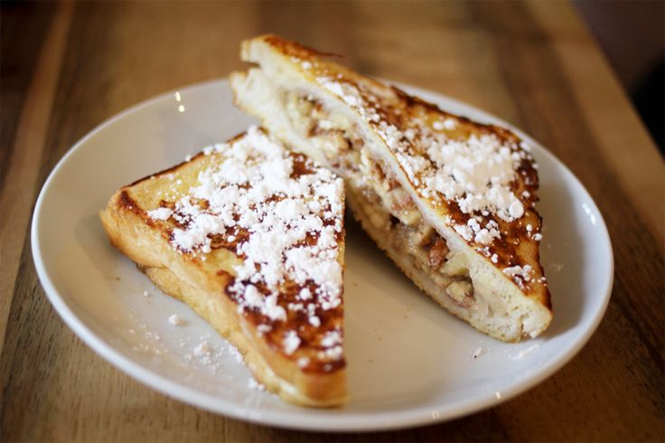 Banana Stuffed French Toast from The Avenue A