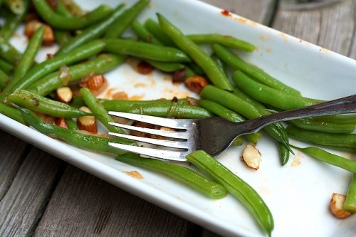 Recipe: Green Beans with Smoked Paprika and Marcona Almonds