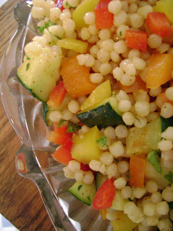 Jo and Sue: Israeli Couscous Salad | Recipes: Salads | Pinterest