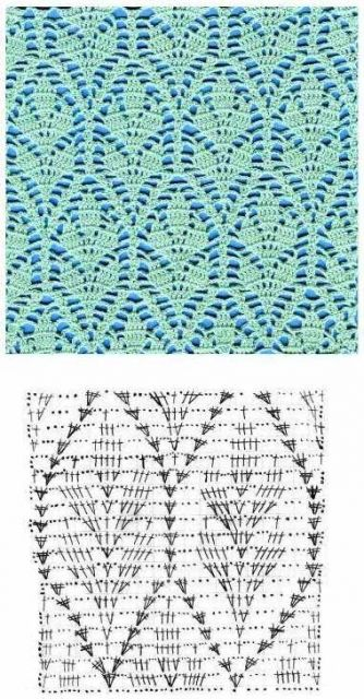 multiple patterns crochet crochet Pinterest