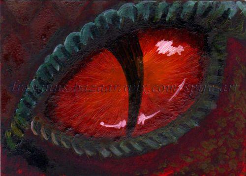 iguana eye painting - photo #37