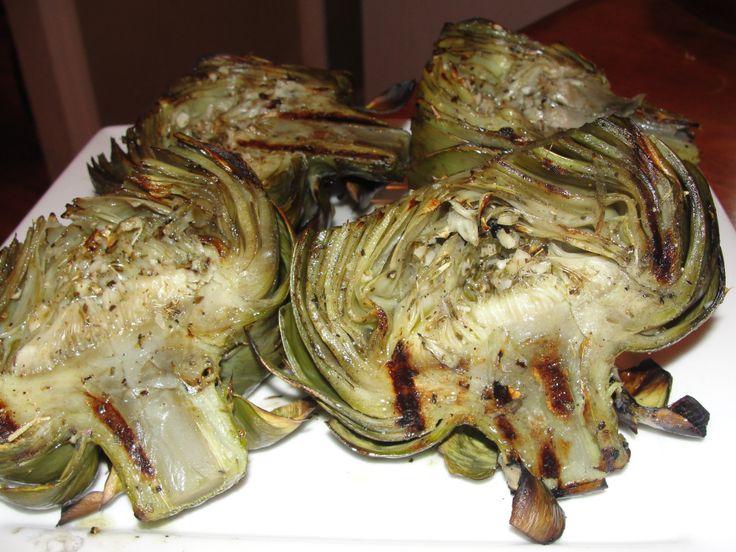 Grilled Artichoke Recipe | nosh.main | Pinterest