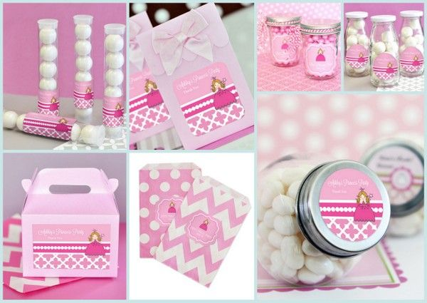 Princess Party Favor Container