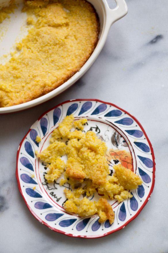Italian Parmesan Corn Cakes Recipe — Dishmaps