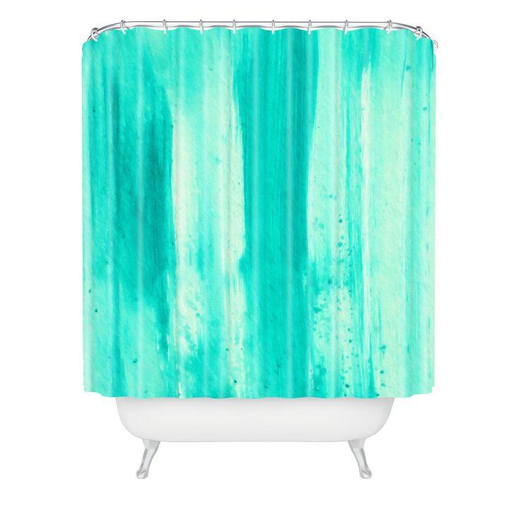 ... Dance Aqua Passion Shower Curtain | DENY Designs Home Accessories