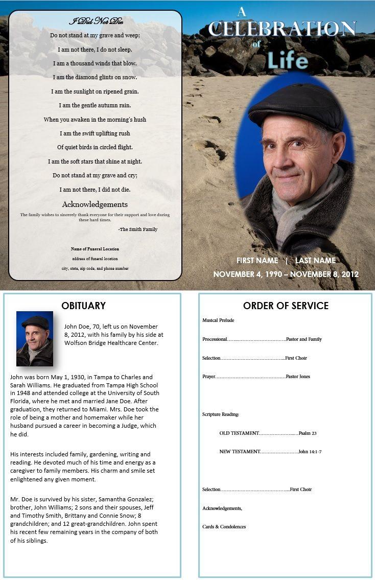 Funeral program example solarfm maxwellsz