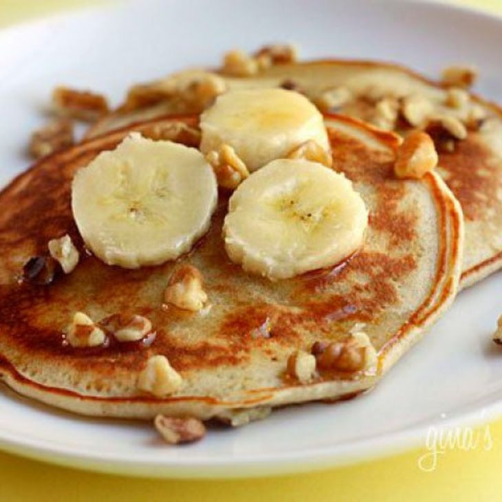 Banana Nut Pancakes IV Recipe | so yummy so yummy | Pinterest