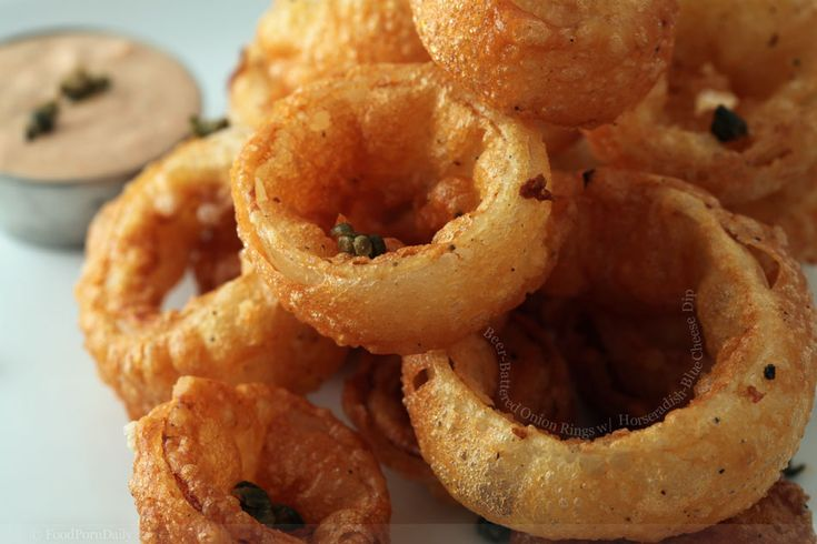 What is it about beer battered onion rings? Gosh darnit they are just ...