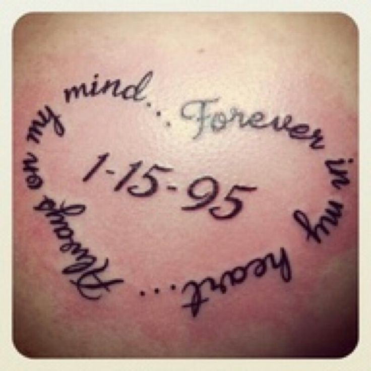 Save The Date Tattoo Tattoos And Piercings Pinterest