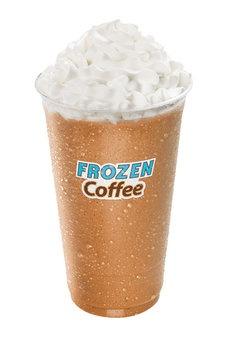 dunkin donuts frozen coffee