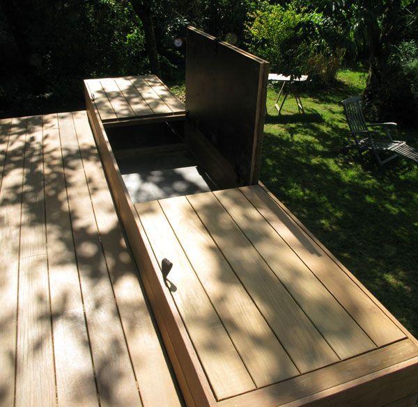 Pin by cote terrasse et jardin on [ARCHI] TERRASSE EN BOIS  Pinterest
