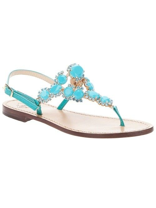 Emanuela Caruso Thong Sandals | Womens Shoes & Footwear
