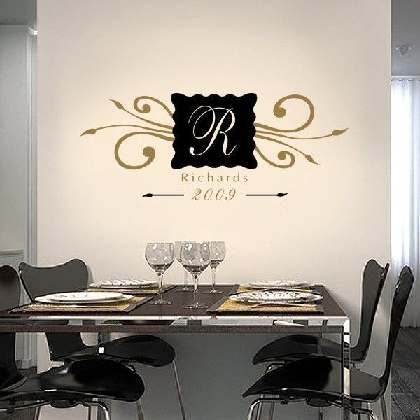 Wall Decal Personalized ~ Color The Walls Of Your House