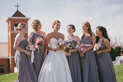 Bari Jay Bridesmaid dresses | Jeff and Jane Greenough, Photographers | Theknot.com