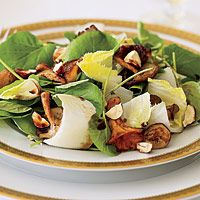 Warm Mushroom Salad with Endive and Watercress With a couple ...