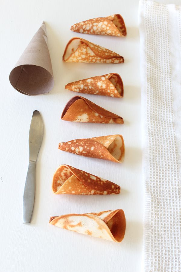 Homemade Sugar Cones Recipe — Dishmaps
