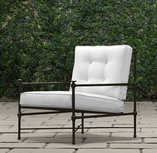 Pin by angela paris on the great outdoors pinterest for Restoration hardware metal chair
