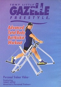 Endorsed by Tony Little, America's Personal Trainer®, Gazelle is perfect for all fitness levels - beginner to advanced. Select the best cardio, strength, flexibility workout for you. Tony Little's Best Body Workout DVD. Learn More > $ Add to Cart. Tony Little's Lower Body Solution Workout DVD.