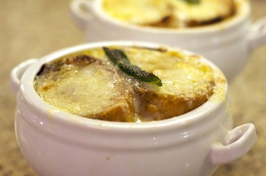 English Onion Soup with Sage and Cheddar | RECIPES: SOUP - Soups For ...