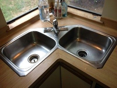 Corner Kitchen Sink Unit : Kitchen Sinks