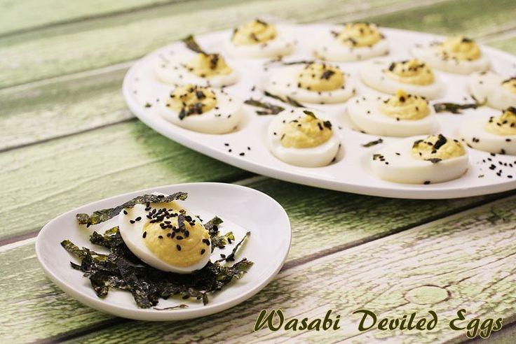... deviled eggs sriracha and wasabi deviled eggs wasabi tuna deviled eggs