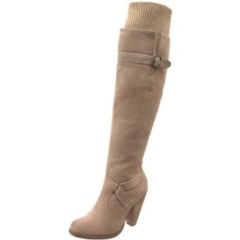 Love these--they have a rib knit cuff so they fit around your knees. I don't have $200 lying around though! :(