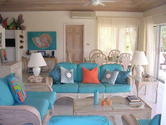 Beach themed living rooms bing images my dream beach for Tropical themed house