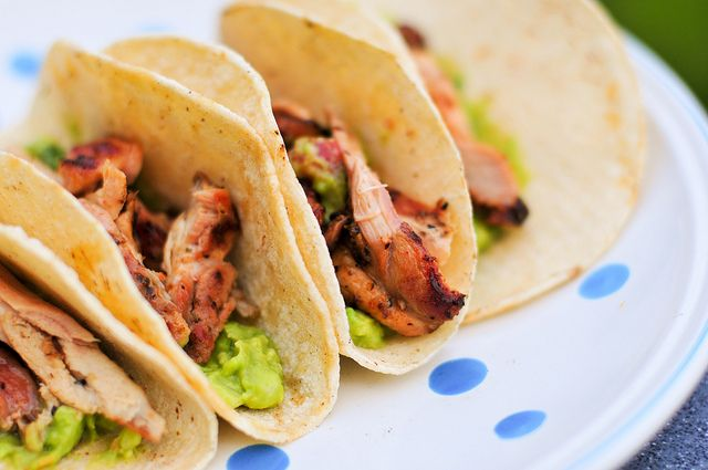 Beer-marinated Chicken Tacos | Food To Try | Pinterest