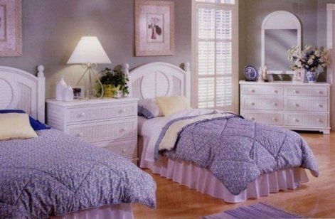 White Wicker Bedroom Furniture Tot Room Pinterest
