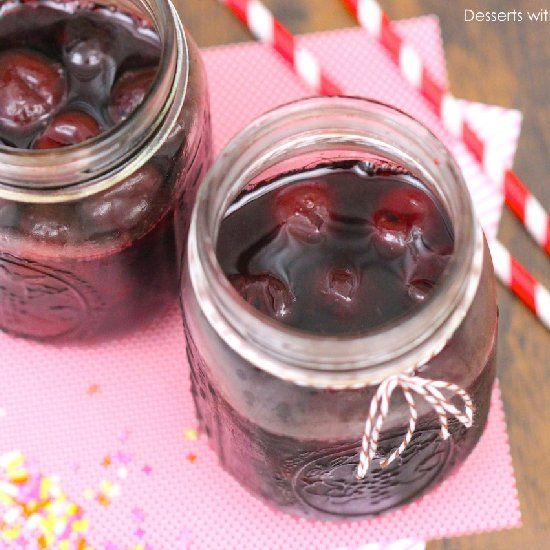 Healthy Homemade Maraschino Cherries! (made without sugar and ...