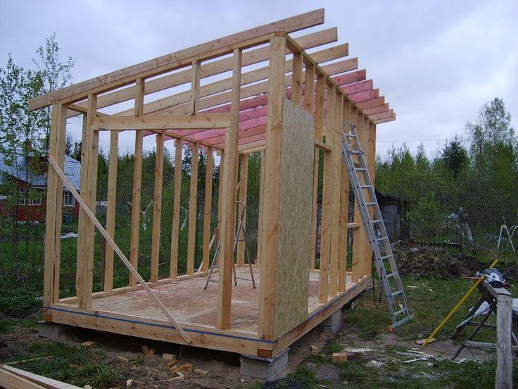 как построить хозблок на дачи - Ремонт квартиры