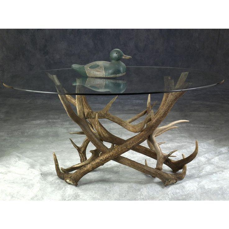 Elk Antler Coffee Table
