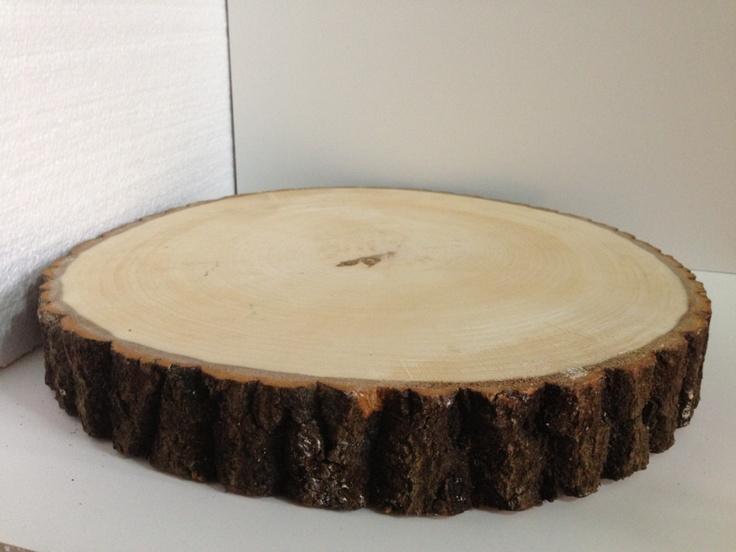 wooden tree stump cake board stand handfasting pinterest. Black Bedroom Furniture Sets. Home Design Ideas