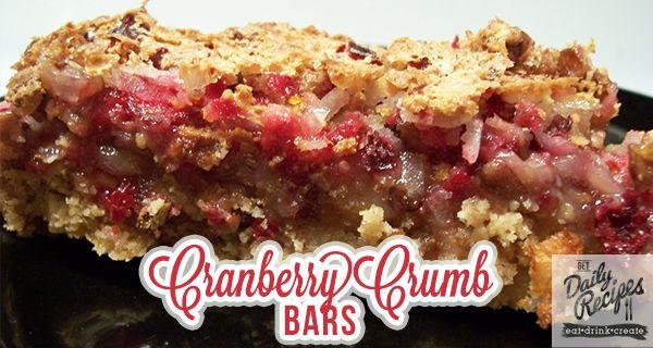 ... Bars Recipe http://getdailyrecipes.com/2013/11/07/cranberry-crumb-bars