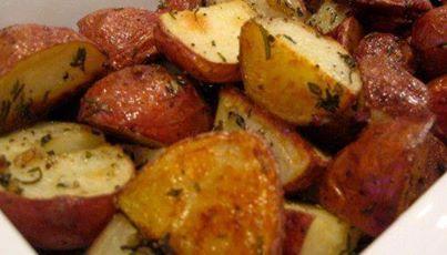 PARMESAN RED POTATOES   N!FY Dinners/Snacks!   Pinterest