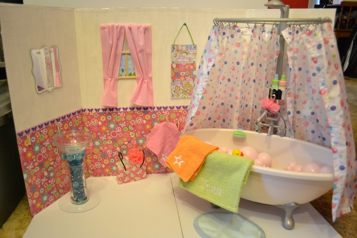 American Girl Bathroom Display American Girl Doll Insanity Pinter