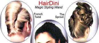 "HairDini ""magic styling wand"""
