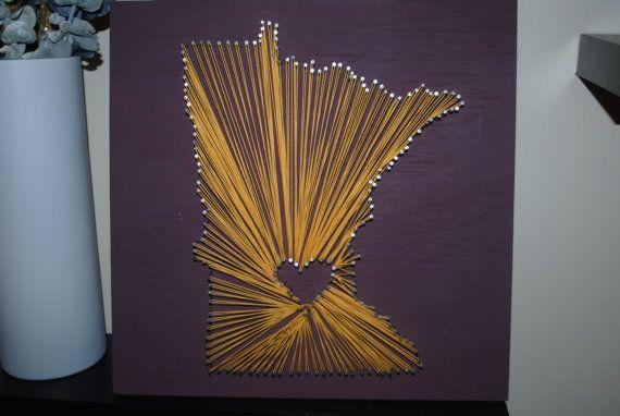 Love Minnesota. $35.00, via Etsy.