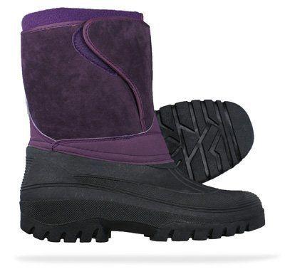 Groundwork Fleece Lined Snow / Mucker Womens Boots - Purple - SIZE US