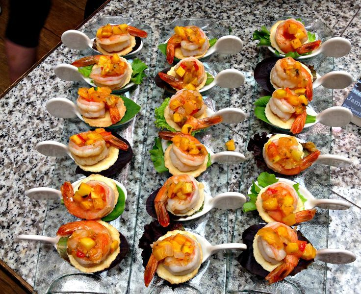 ... tropical fruit sautéed shrimp with warm tropical fruit salsa recipe