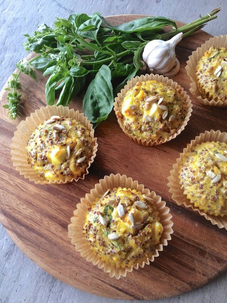 Savory Pumpkin & Feta Muffins (And They're Gluten Free!)