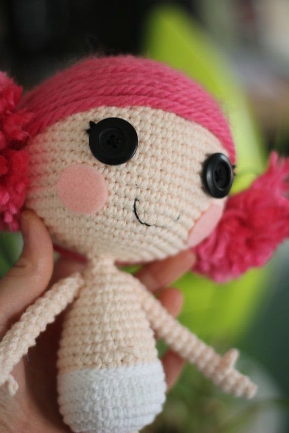 PATTERN: Lalaloopsy Crochet Amigurumi Doll