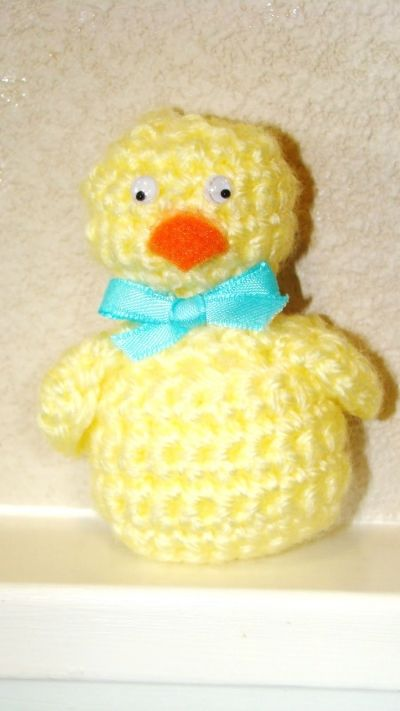 Easter Chick - free crochet pattern Crochet Easter ...