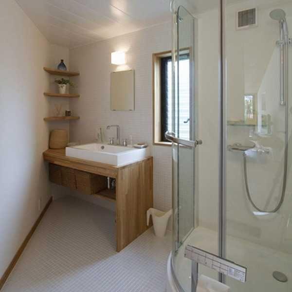 Elegant Modern Bathroom Design Blending Japanese Minimalist Style With