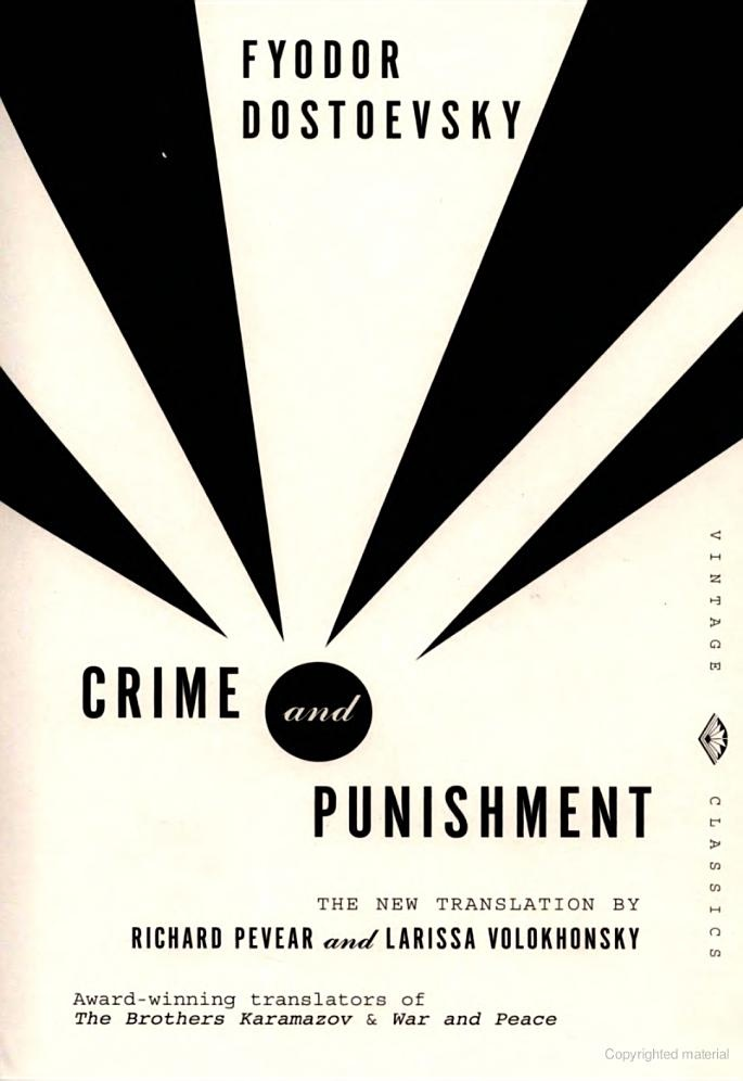 an inspiration in the fyodor dostoevskys novel crime and punishment These questions are a central theme of fyodor dostoevsky's crime and punishment in the novel, raskolnikov is fyodor dostoevsky, crime and punishment, mary shel.