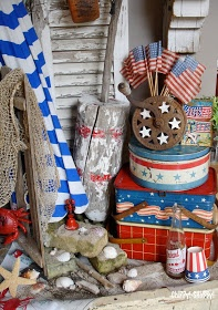vintage fourth of july bunting