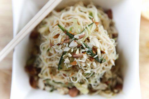 Satay Noodle Bowl w/ Tofu #vegan | vegetarian, vegan, and just meatle ...