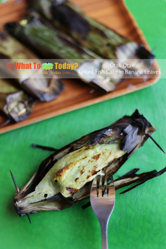 Grilled Fish With Banana Leaf Recipe — Dishmaps