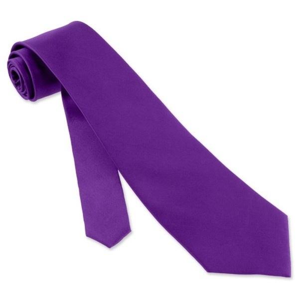 satin tie purple 3 75 quot 6830