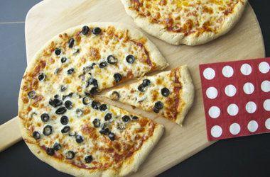 New Kind of Pizza Dough — Punchfork | YUMMY :P | Pinterest